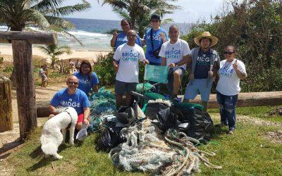 Bridge Capital Ranked TOP 3 in the 2018 International Coastal Cleanup!